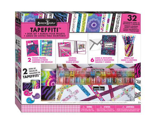 Amazon Com Fashion Angels Tapefitti Art Desk Set Toys