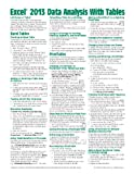 img - for Microsoft Excel 2013 Data Analysis with Tables Quick Reference Guide (Cheat Sheet of Instructions, Tips & Shortcuts - Laminated Card) book / textbook / text book