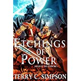 Etchings of Power (Aegis of the Gods Book 1) ~ Terry C. Simpson