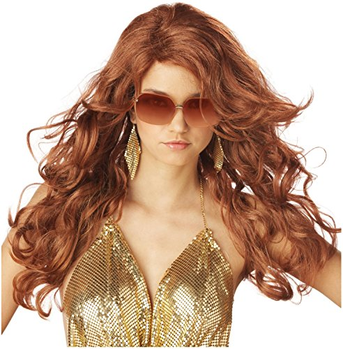 California Costume Collection - Super Sexy Super Model (Auburn) Adult Wig