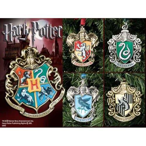 Harry Potter Hogwarts Christmas Ornaments - Set of Five