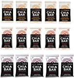 Health Warrior Chia Bars New Flavors Variety Pack (25g)(15 Bars)