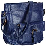edc by ESPRIT Damen Handtasche L48010, Damen Umhngetaschen 19x20x8 cm (B x H x T)