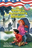 img - for Capital Mysteries #11: The Secret at Jefferson's Mansion (A Stepping Stone Book(TM)) book / textbook / text book