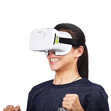 Amazon.com: JGmax 3D VR Virtual Reality Glasses Headset For 3D ...