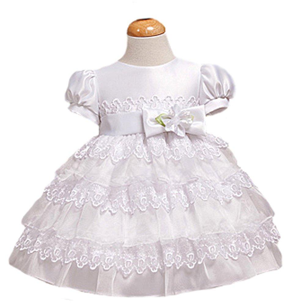 Ruffled dresses for baby girls