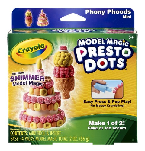 Crayola Model Magic Presto Dots Cone/Cake - 1