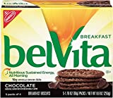 belVita Breakfast Biscuits, Chocolate, 5 Count, 8.8 Ounce Box (Pack of 6)