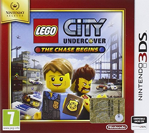 LEGO City Undercover: The Chase Begins - Nintendo Selects - Nintendo 3DS