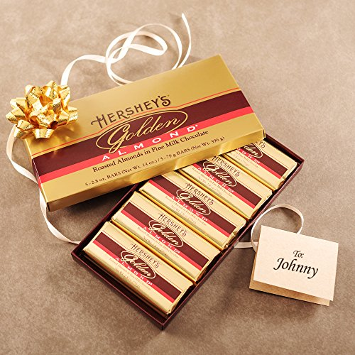 Chocolate Bar Gift Boxes : Hershey s golden almond chocolate bar gift box count