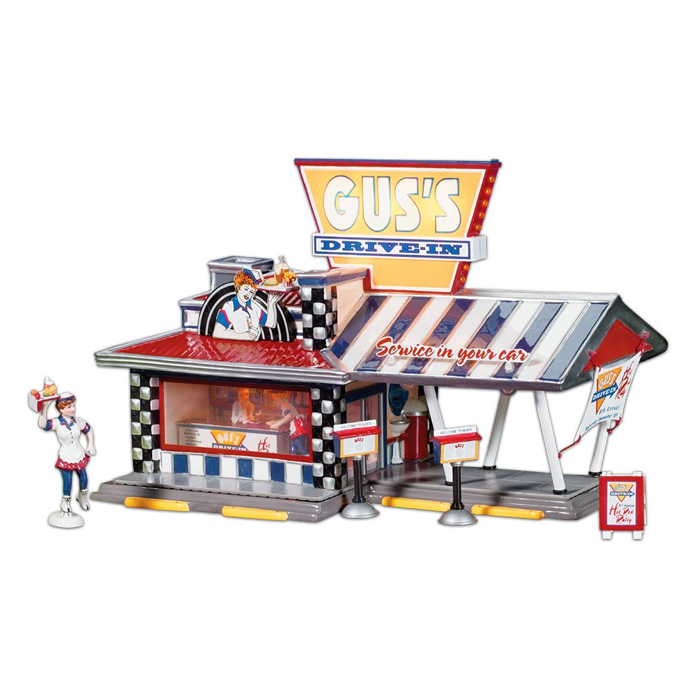 Department 56 - Guss Drive-in by Enesco - 55067