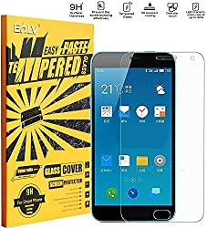 Meizu M2 Screen Protector, E LV Meizu M2 ANTI-SHATTER Tempered Glass Screen Protector Scratch Free Ultra Clear HD Screen Guard for Meizu M2 (2015) Only