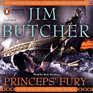 Princeps' Fury: Codex Alera, Book 5 by Jim Butcher