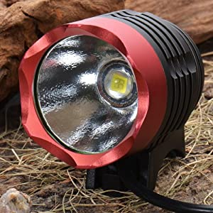 Ssc P7 3 Mode 1200 Lumens Water Resistant Led Bike Headlight With Battery Pack Set