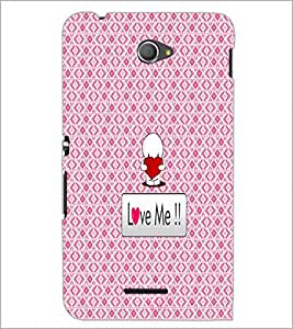 PrintDhaba Quote D-4560 Back Case Cover for SONY XPERIA E4 (Multi-Coloured)