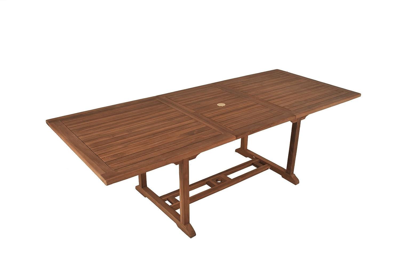 Teak Gartentisch Teaktisch Tisch Auszugstisch 150 – 200 cm Gartenmöbel jetzt kaufen