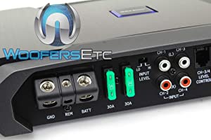 Alpine R-A60F R-Series Four Channel Amplifier (Color: Black)