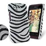 Femeto Zebra Fur Back Cover Case for HTC Rhyme HTC Rhyme Case Cover