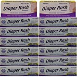 Diaper Rash Ointment To Prevent And Treat Diaper Rash Generic For Desitin Maximum Strength 40% Zinc Oxide 2 Oz. Per Tube Pack Of 12