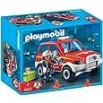 Playmobil - 4822 - Jeu de construction - Voiture de pompier
