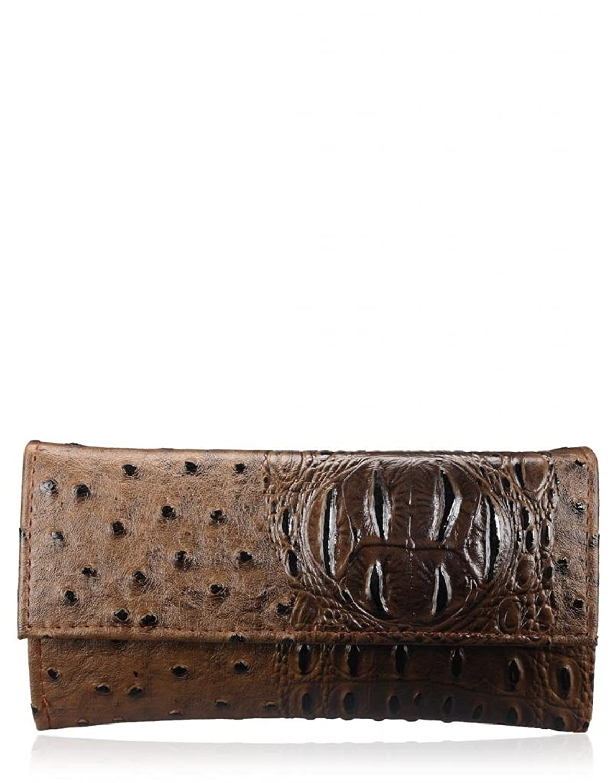 Handbags & Clutches Under Rs.199  By Amazon | Oleva Women's Clutch Brown (OCB_HI_76_BROWN) @ Rs.169