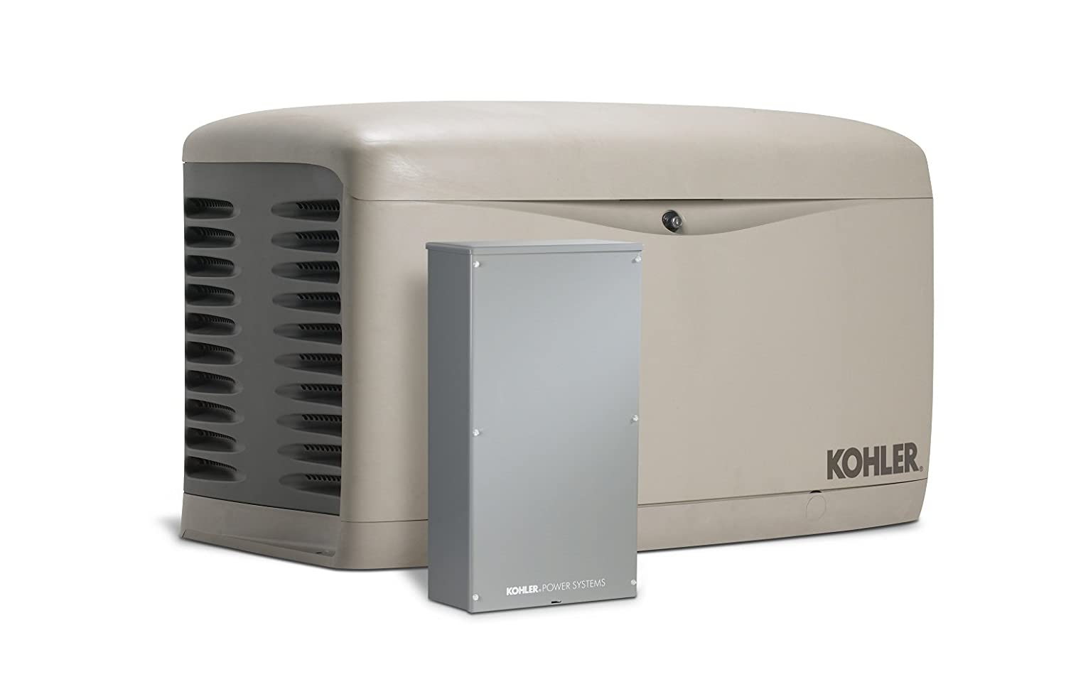 Kohler 20RESAL-200SELS 20,000-Watt Air-Cooled Standby Generator with 200 Amp Whole-House, Service Entrance Rated, Load Shedding Automatic Transfer Switch
