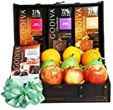 Godiva Chocolate & Fruit Gift Trunk