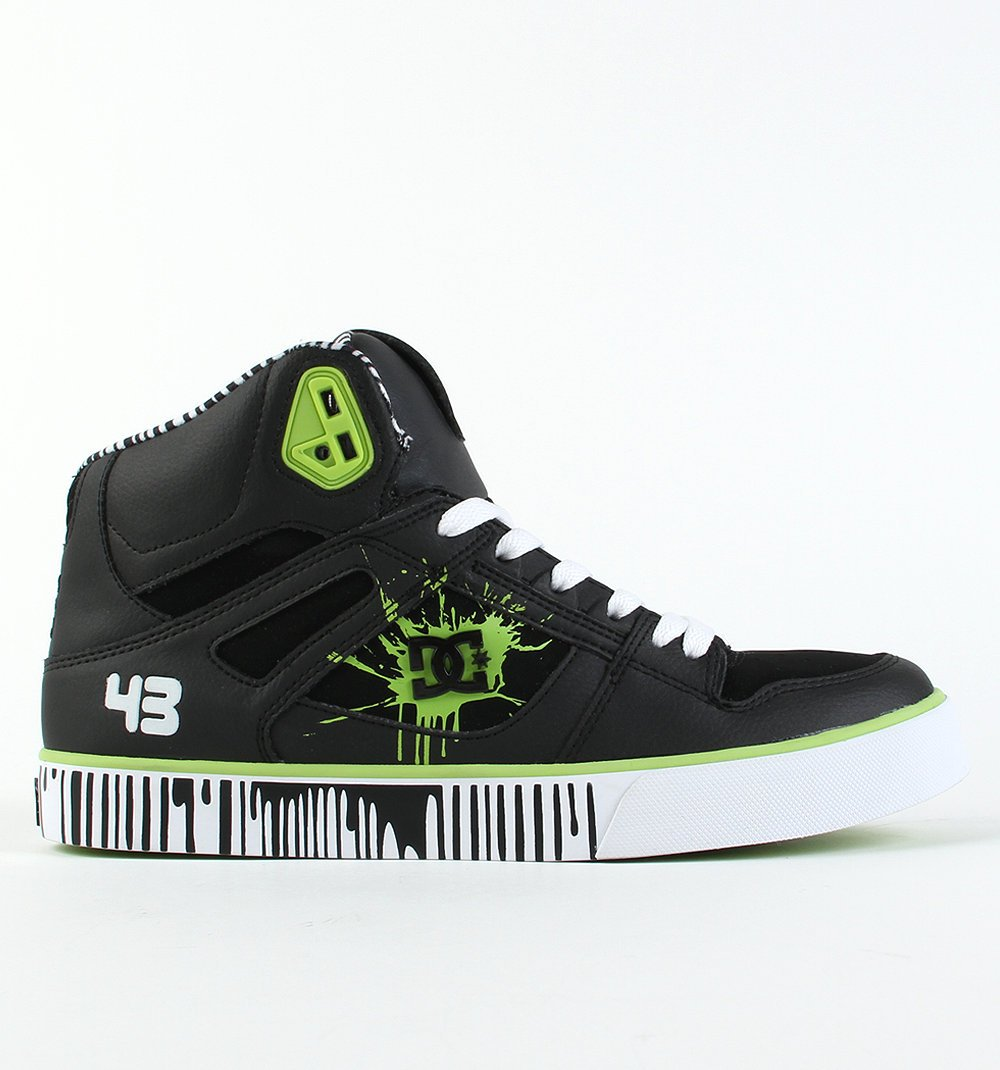 black dc shoes ken block high top 43 shoes sneakers new. Black Bedroom Furniture Sets. Home Design Ideas