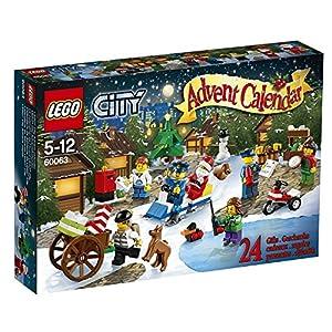 Lego City - 60063 - Jeu De Construction - Le Calendrier De L'Avent