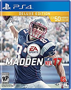 Madden NFL 17 - PlayStation 4 Deluxe Edition