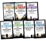 Gerald Seymour Gerald Seymour Ultimate Collection 7 Books Collection Pack Set RRP: £64.75 The Fighting Man, The Waiting Time, Holding the Zero, The Unknown Soldier, The Journeyman Tailor, Condition Black