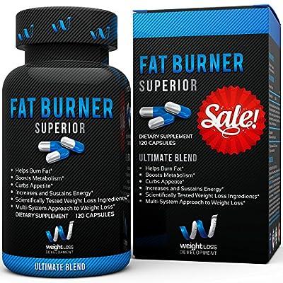 Weight Loss Development - Fat Burner - Diet Pills - BEST BUY - 120 Capsules