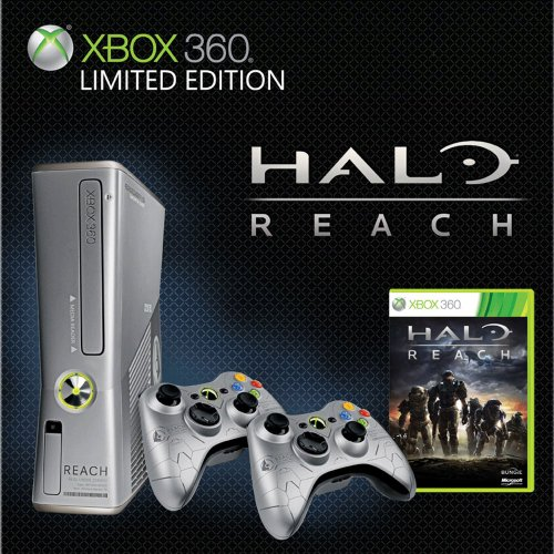 Xbox 360 250GB Halo Reach Console Bundle (Halo 3 Xbox Console compare prices)