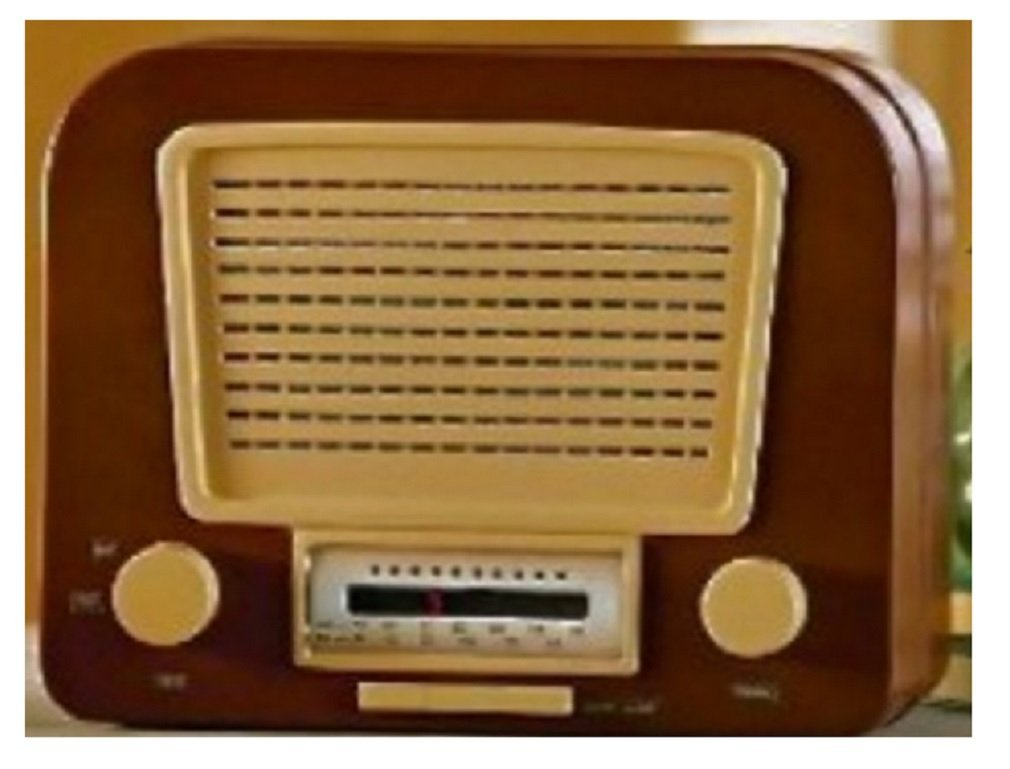 Full Functioning Vintage AM/FM Radio Hideaway Safe 0