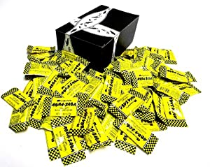 Annabelle's Abba-Zaba Minis, 0.425 oz Bars in a Gift Box (Pack of 75)
