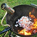 BBQ Dragon Fire Supercharger, 2015 Summer Best Seller !!! Gets Your Grill Started in No Time. No More Lighter Fluid, No More Chimney Starter, Just Clean BBQ !!!Great Gift for the BBQ Enthusiast!!!