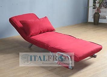 Divano letto sofa bed rosso divani 67x69x83h divanetti for Comprare divano