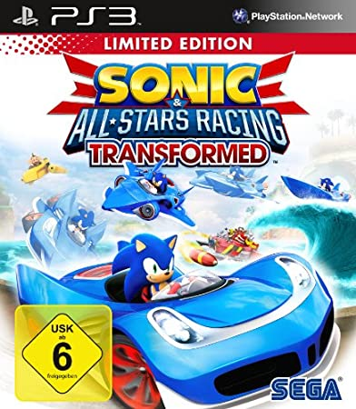 Sonic & SEGA All-Stars Racing Transformed - Limited Edition