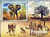 sellos para coleccionistas: Umm al Kaiwain Bloque 34 (completa.edición.) matasellado 1971 animales el libre Salvaje