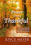 The Power of Being Thankful: 365 Devo...