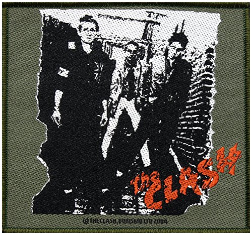 The Clash toppa The Clash 10 x 9,5 cm Punk Rock Ska
