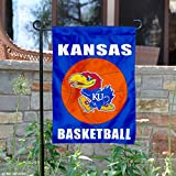 Kansas Jayhawks Basketball Garden Flag