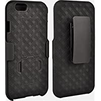 Verizon Shell/Holster Combo Case for iPhone 6 Plus (Black)