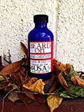 7 Sins Beard on Leave in Conditioner Conditioning Beard Oil 4 Ounce Screw Top Bottle