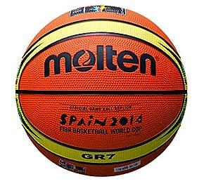 Molten ballon de basket r plique coupe du monde 2014 orange orange size 7 sports et - Coupe du monde de basket 2014 ...