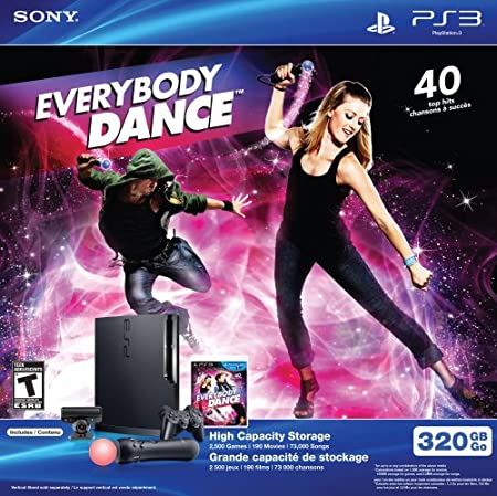 PS3 Move 320 GB Hardware with Everybody Dance