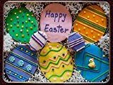 Homemade Easter Egg Sugar Cookie Gift Tin