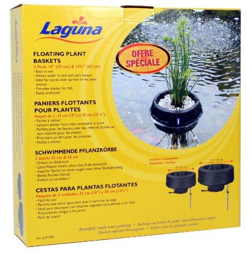 laguna pflanzschale schwimmend 2er set durchmesser 25. Black Bedroom Furniture Sets. Home Design Ideas