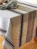 Black Linen Tablecloth Provance
