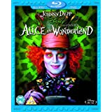 Alice in Wonderland Combi Pack (Blu-ray + DVD)by Johnny Depp